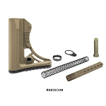 UTG PRO AR-15 Ops Ready S3 Mil-spec Stock Kit FDE