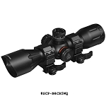 UTG 4X32 1 Inch Crossbow Scope  Pro 5-Step RGB Reticle w/QD Rings