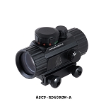 UTG 3.8 Inch ITA Red / Green CQB Dot Sight with Integral Mount