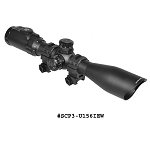 UTG 1.5-6X44 30mm Scope 36-color Mil-dot w/ Rings