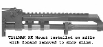 UltiMAK Shim Set for AK Scout Mount for M1-B or M2-B for .223 or 5.45 Calibers