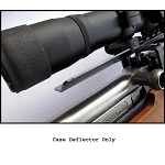 Spent Casing Deflector for SKS rifles equipped with Brass Stacker SKS Scout Scope Mount ONLY