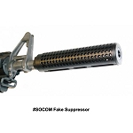 GunTec AR-15 Reverse Thread Slip Over SOCOM Style Fake Suppressor