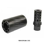 GunTec AR 300 Blackout / .308 Muzzle Comp With QD Blast Shield