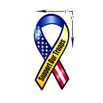 Support Our Troops Car Magnet