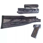 TimberSmith Romanian AK-47 Laminate Wood Stock Set -  Gray