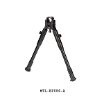 UTG New Gen Reinforced Clamp-on Bipod, Center Ht 8.7-10.2 Inch