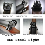 Tech Sights SKS Rifle Aperture Steel Sights