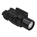 NcStar Gen3 Pistol Flashlight w/Strobe & Green Laser