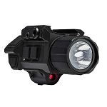 NcStar Gen3 Pistol Flashlight w/Strobe & Red Laser