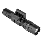 NcStar Pro Series Flashlight Mod2/ 3w 500 Lumen/ Modes: High - Low - Strobe/ Rail Mount