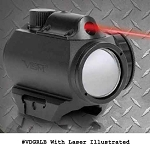 NcStar Green Dot Sight With Red Laser Combo Scope