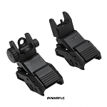 NcStar Pro Series Flip-Up Front And Rear Sights (Combo)
