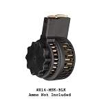 X-14 Skeletonized 50 Round High Capacity Drum Magazine for M1A & M14 -Restricted Item -Check Your Local and State Laws Prior To Ordering