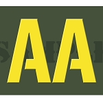 Ammo Can Sticker AA - Yellow Stencil .30Cal