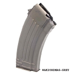 AK-47 20 Round Grey Steel Magazine -Restricted Item -Check Your Local and State Laws Prior To Ordering