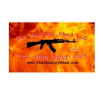Ammo Can Sticker CS AK-47 Logo Fire .50Cal