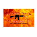 Ammo Can Sticker CS AR-15 Logo Fire .50Cal