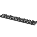 Lion Gears Tactical Picatinny Rail, 5 Inch Long with 12 Slots
