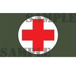Ammo Can Sticker FIRST AID (Picture)