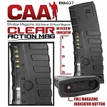 CAA AR-15 30 Round Mag W/Window -Restricted Item -Check Your Local and State Laws Prior To Ordering