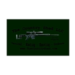 Ammo Can Sticker CS Prec Logo Green .50Cal