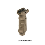 UTG Ergonomic Ambidextrous Vertical Foregrip, Flat Dark Earth