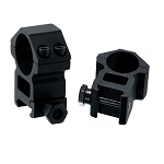 UTG 1 Inch  2 Piece High Profile Picatinny Weaver Scope Rings