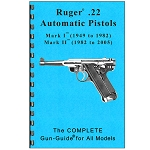 RUGER .22 Automatic Pistols 1947 ~ 2004 Complete Gun Guide