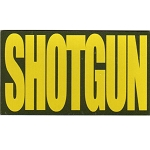 Ammo Can Magnet SHOTGUN - Yellow Standard .50Cal