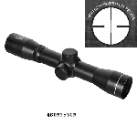 NcStar 2.5X30 Long Eye Relief Scope w/Rings