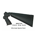Phoenix Tech Field Series Winchester 1200 / 1300 Field Series Sporter Stock 12 ga-  (No recoil Reduction System and No Forend) - Black