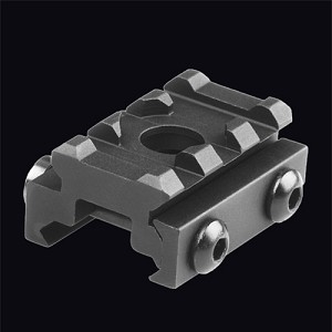 Lion Gears Tactical Picatinny 0.5 Inch Riser with Housing for QD Sling, 1.45 Inch Long with 3 Slots