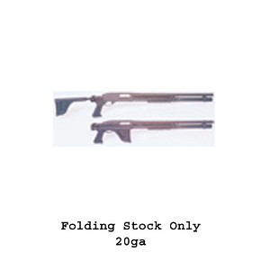 Choate Remington 870 Side Folding stock for 20 ga. Lightweight