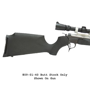 Choate T/C Encore Butt Stock – Black