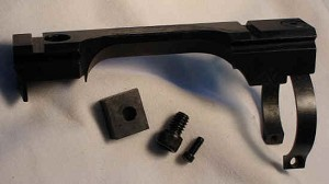 S&K #1 Mark III Lee Scope Mount -Accepts Weaver Rings- Rings NOT Included
