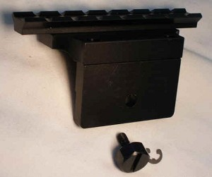 S&K M1A and M14 Scope Mount -Accepts Weaver Rings- Rings NOT Included