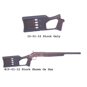 Choate H&R Tamer Buttstock .410 Model (holds 4 shells)