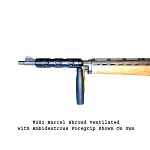 E&L Mini-14 Barrel Shroud with Ambidextrous Foregrip