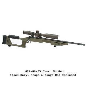 Choate Savage Short Action Stagger Feed Sniper Stock