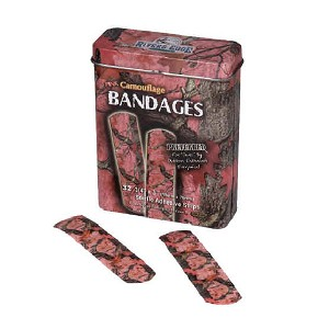Rivers Edge Products 32 Piece Bandages Pink Camo