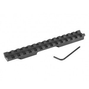 "EGW Savage Mark II UNDRILLED (1-3/8"" Ejection Port) Picatinny Rail Scope Mount 0 MOA Ambidextrous"