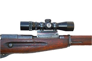 S&K Mosin Nagant M44 and M38, Chinese M53 Scout Mount (S&K Style) w/S&K Style 1 Inch Rings