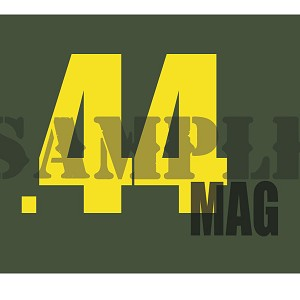 Ammo Can Magnet  .44MAG - Yellow Standard .30Cal