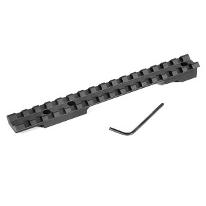 EGW Swedish Mauser 3 Hole for Stripper Clip 0 MOA Picatinny Scope Mount Ambidextrous