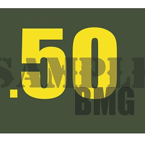 Ammo Can Magnet .50BMG  - Yellow Standard .30Cal