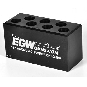 EGW Ammo Chamber Checker .357 Magnum 7 Hole