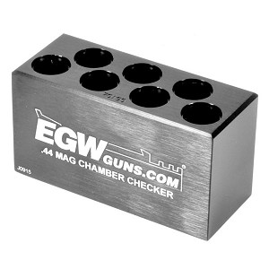 EGW Ammo Chamber Checker .44 Mag 7 Hole
