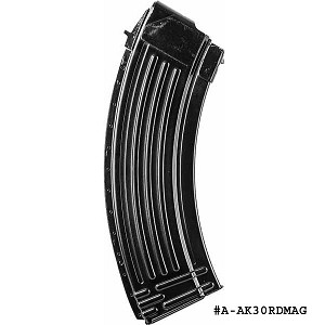 AK-47 30 Round Steel Magazine -Restricted Item -Check Your Local and State Laws Prior To Ordering