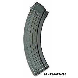 AK-47 40 Round Steel Magazine -Restricted Item -Check Your Local and State Laws Prior To Ordering